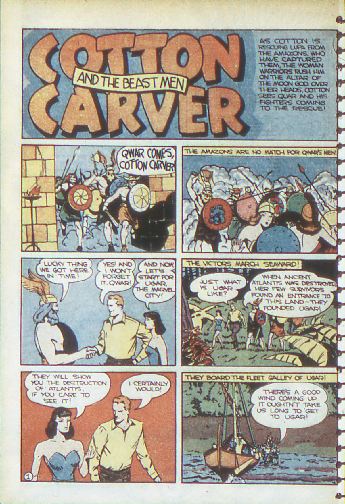 Read online Adventure Comics (1938) comic -  Issue #54 - 33