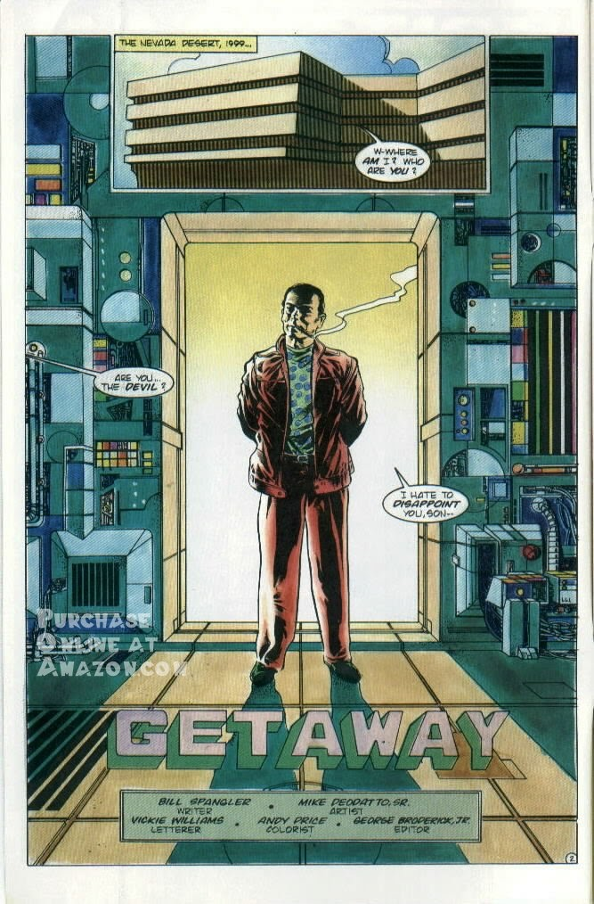 Read online Quantum Leap comic -  Issue #8 - 3