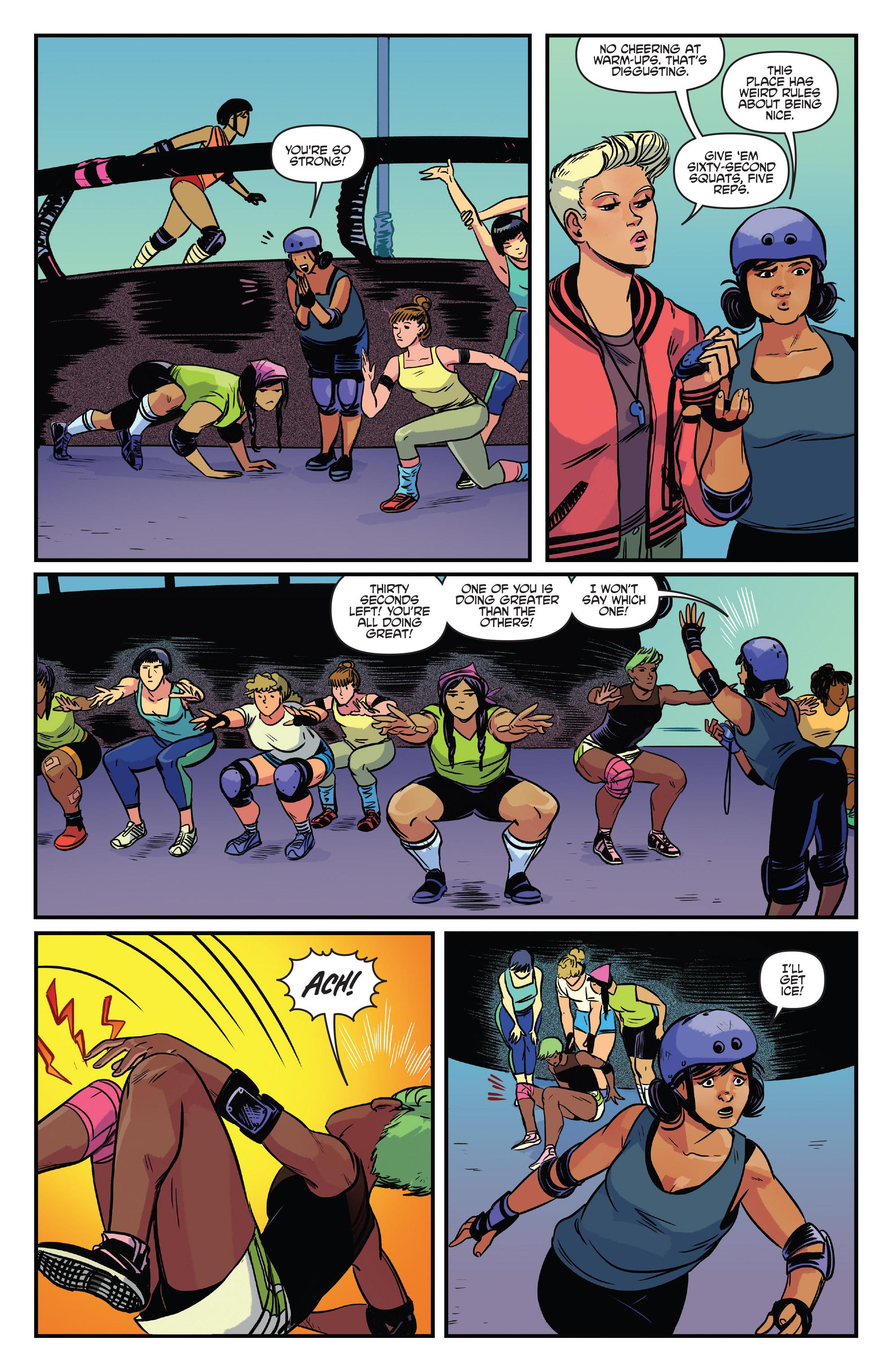 Read online Slam! comic -  Issue #4 - 9
