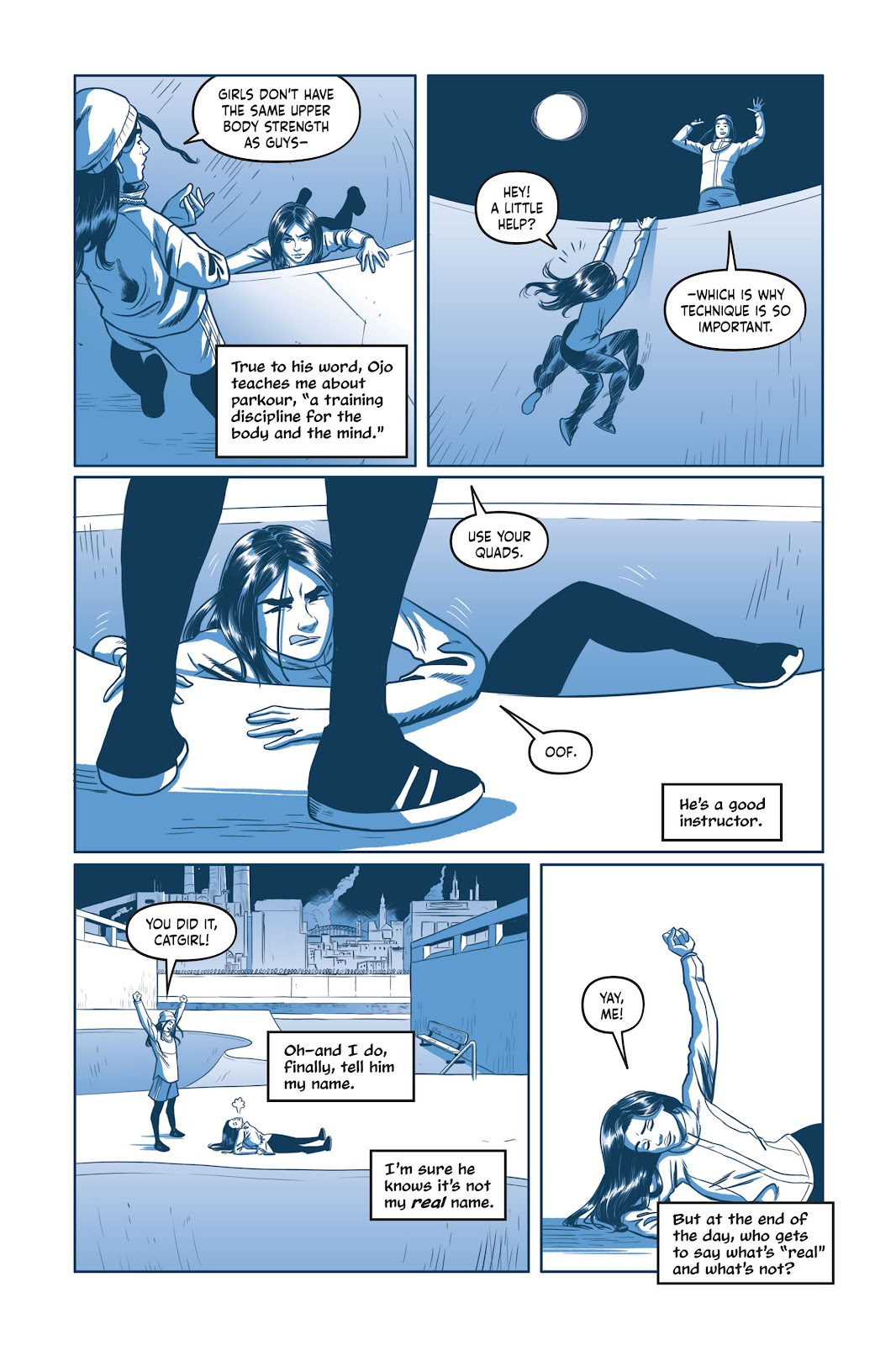 Read online Under the Moon: A Catwoman Tale comic -  Issue # TPB (Part 1) - 89