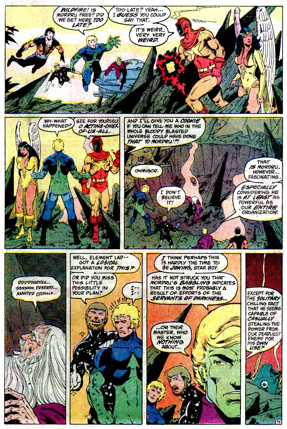 Legion of Super-Heroes (1980) 291 Page 14