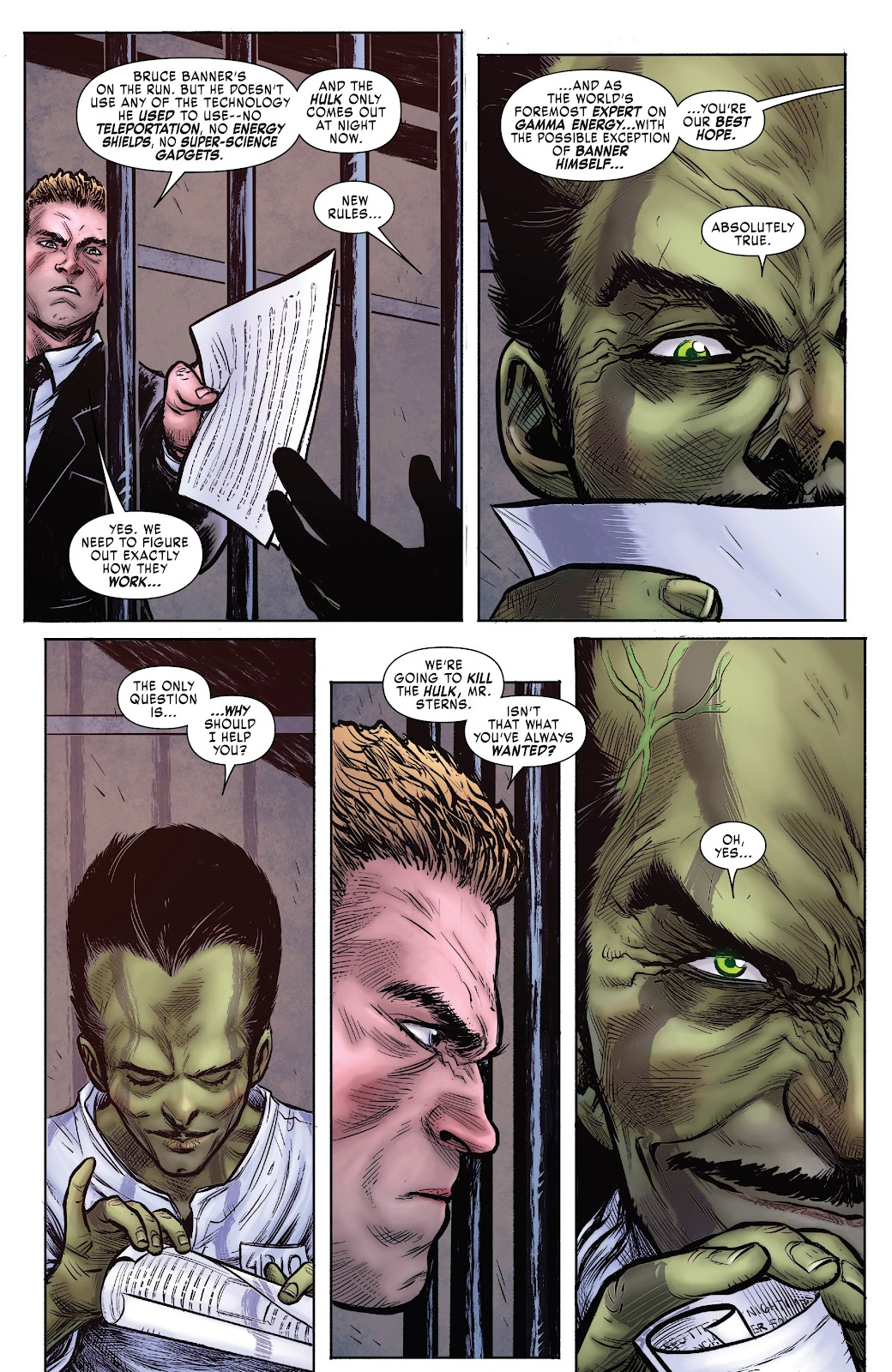 Read online Hulkverines comic -  Issue #1 - 5