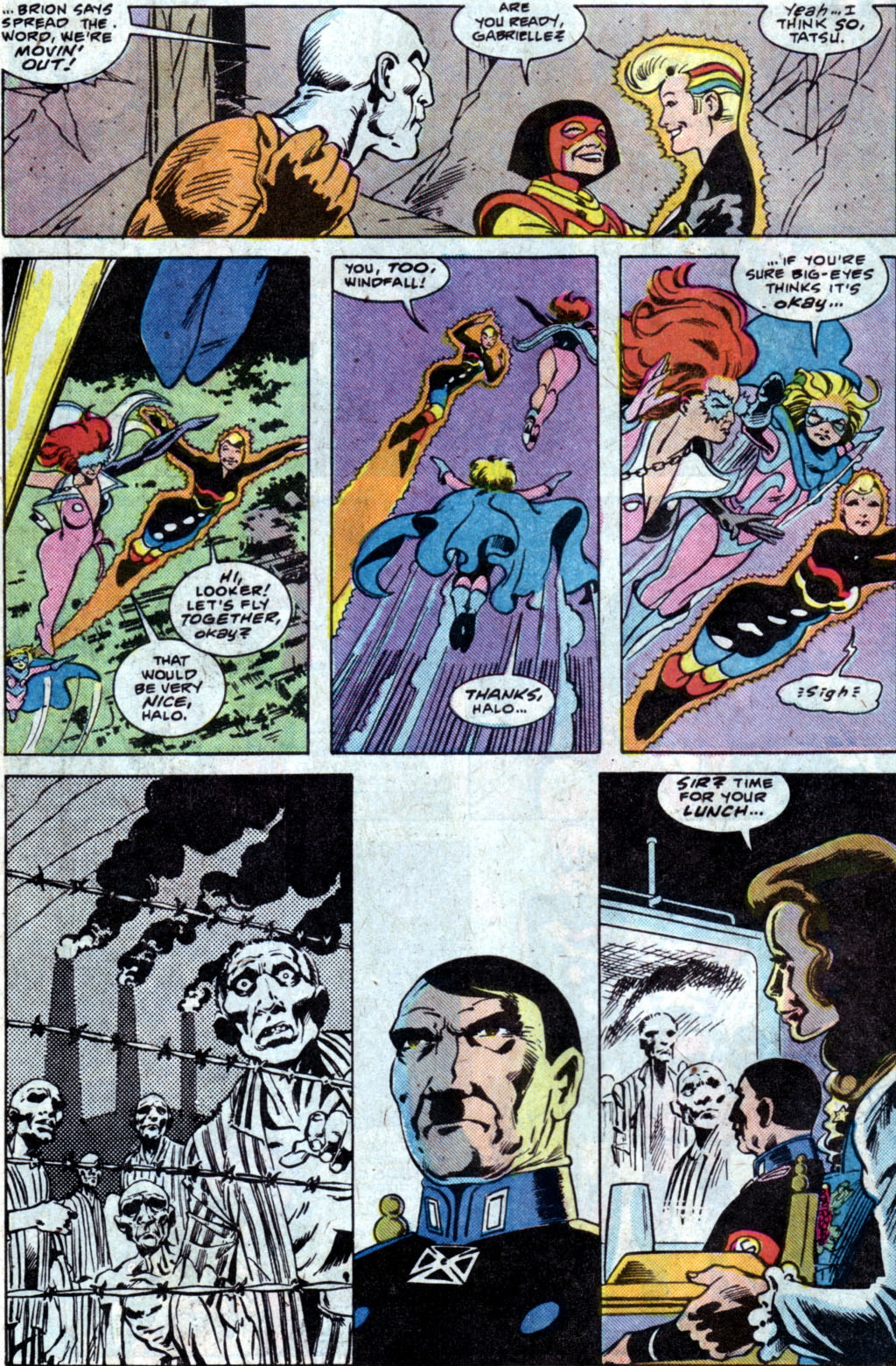 Read online Adventures of the Outsiders comic -  Issue #35 - 8