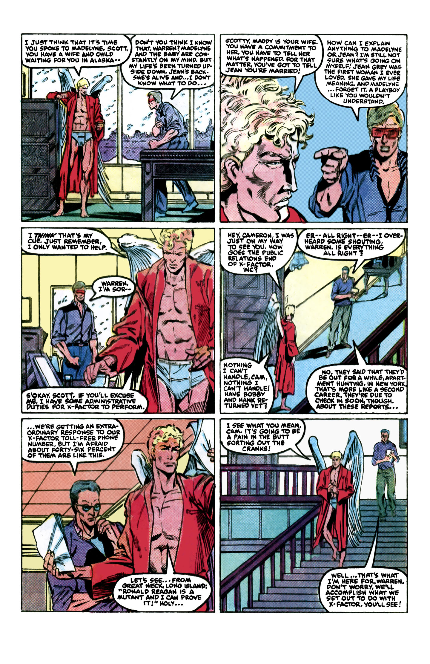Read online X-Factor (1986) comic -  Issue #2 - 6