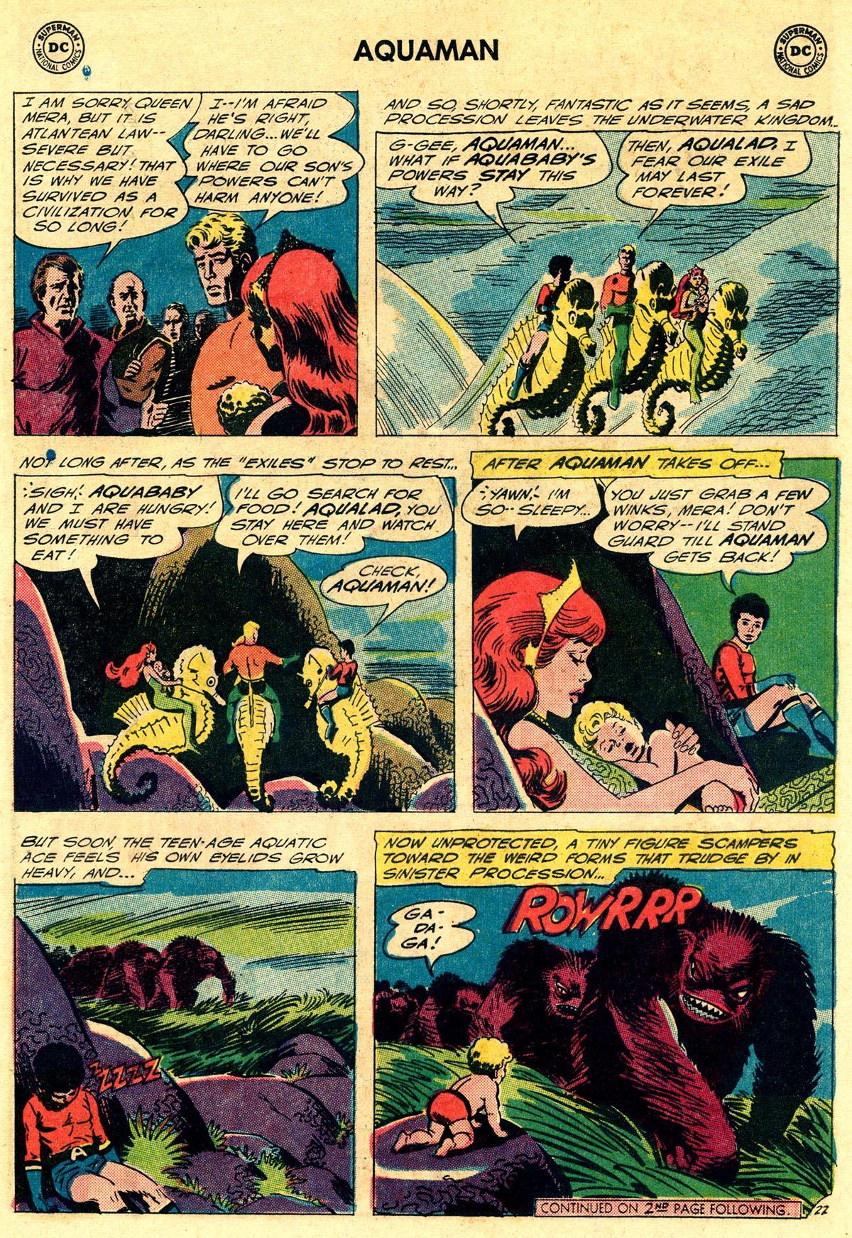 Read online Aquaman (1962) comic -  Issue #23 - 29