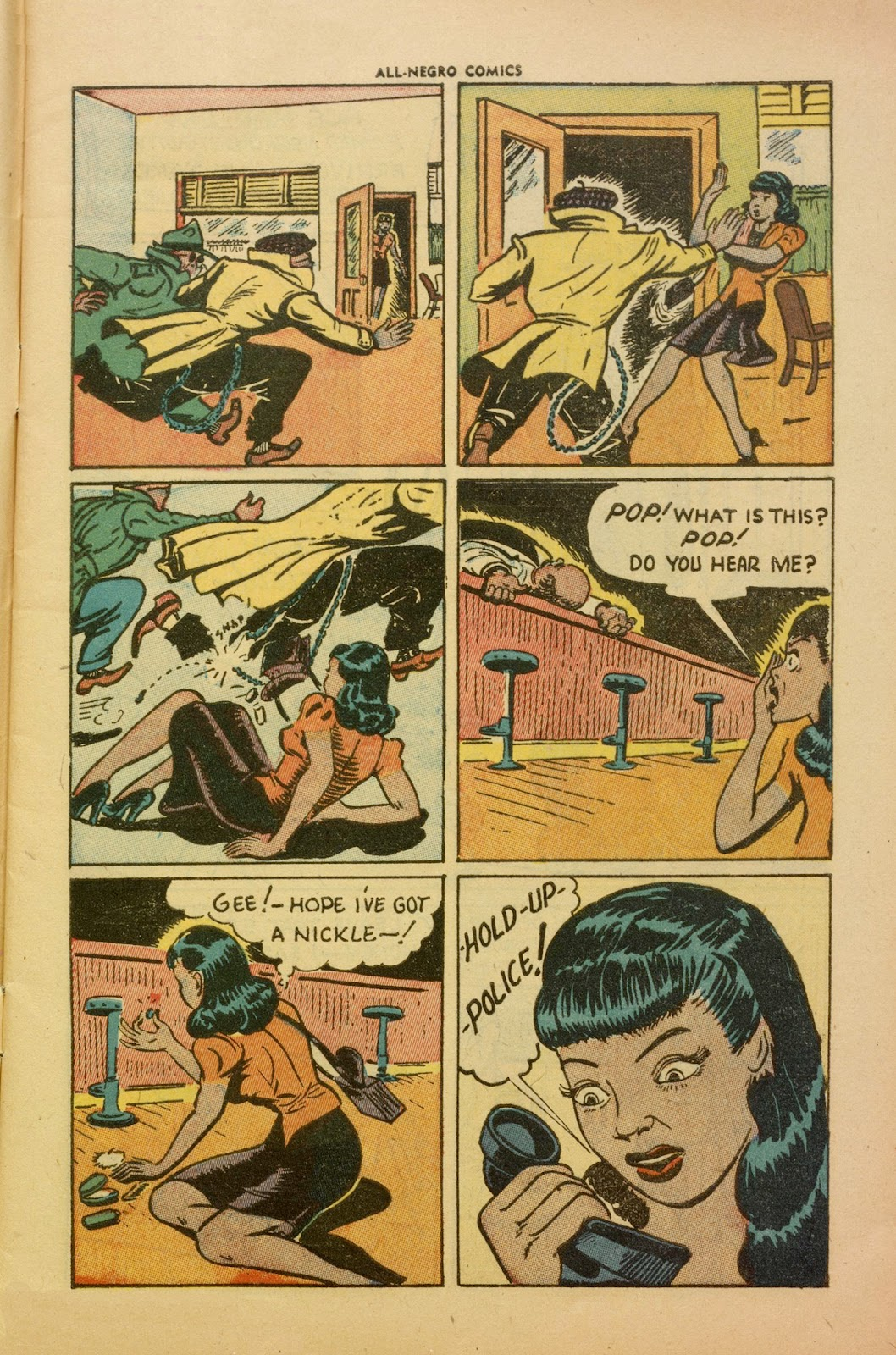 All-Negro Comics issue Full - Page 5