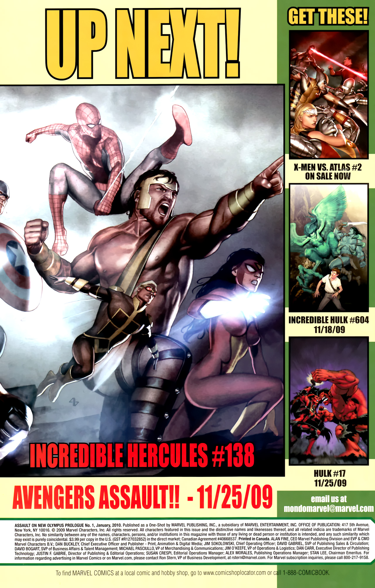Read online Assault on New Olympus Prologue comic -  Issue #Assault on New Olympus Prologue Full - 41