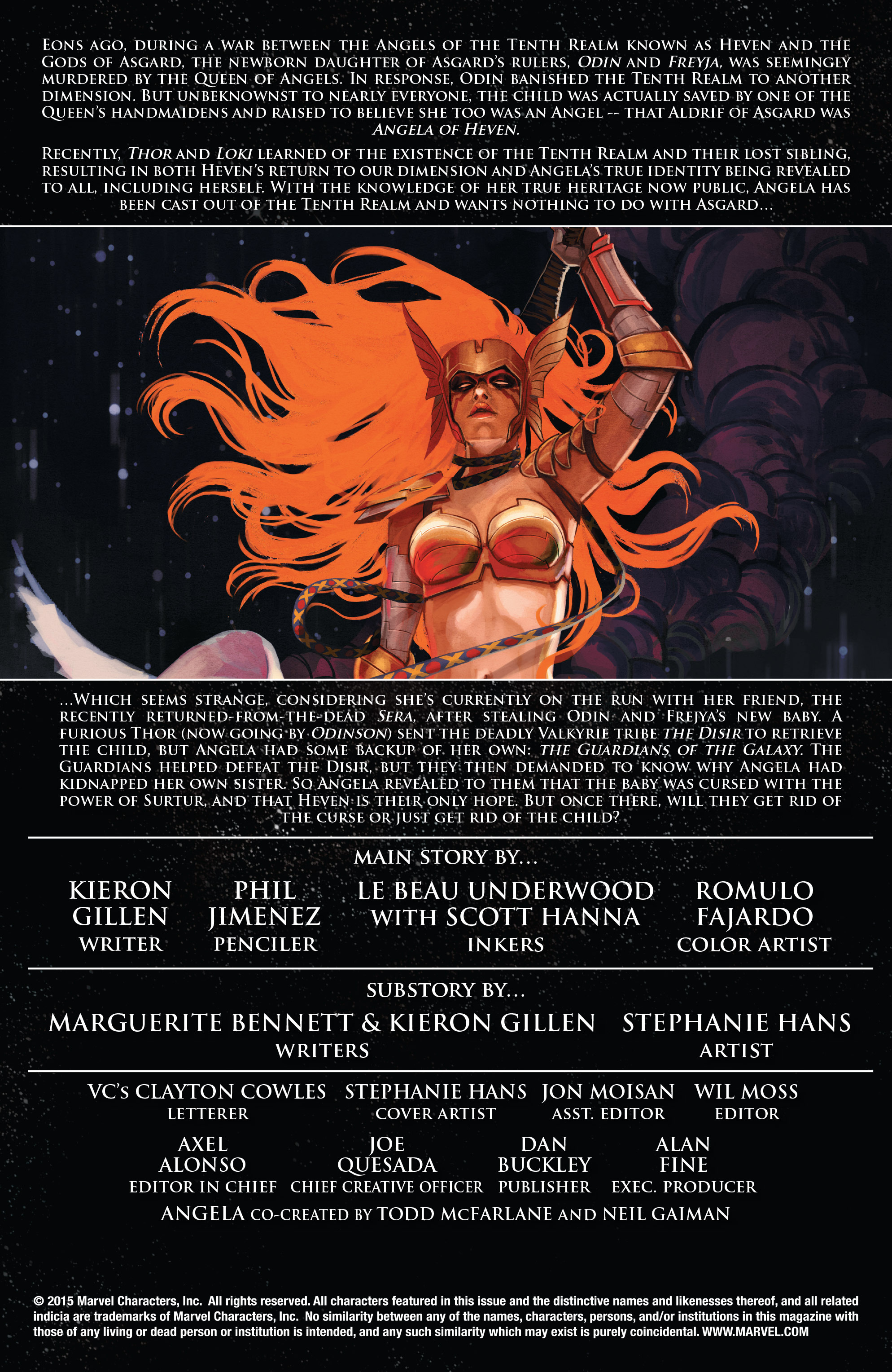 Read online Angela: Asgard's Assassin comic -  Issue #5 - 2