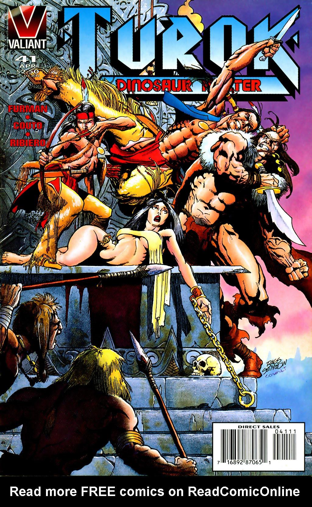 Read online Turok, Dinosaur Hunter (1993) comic -  Issue #41 - 1