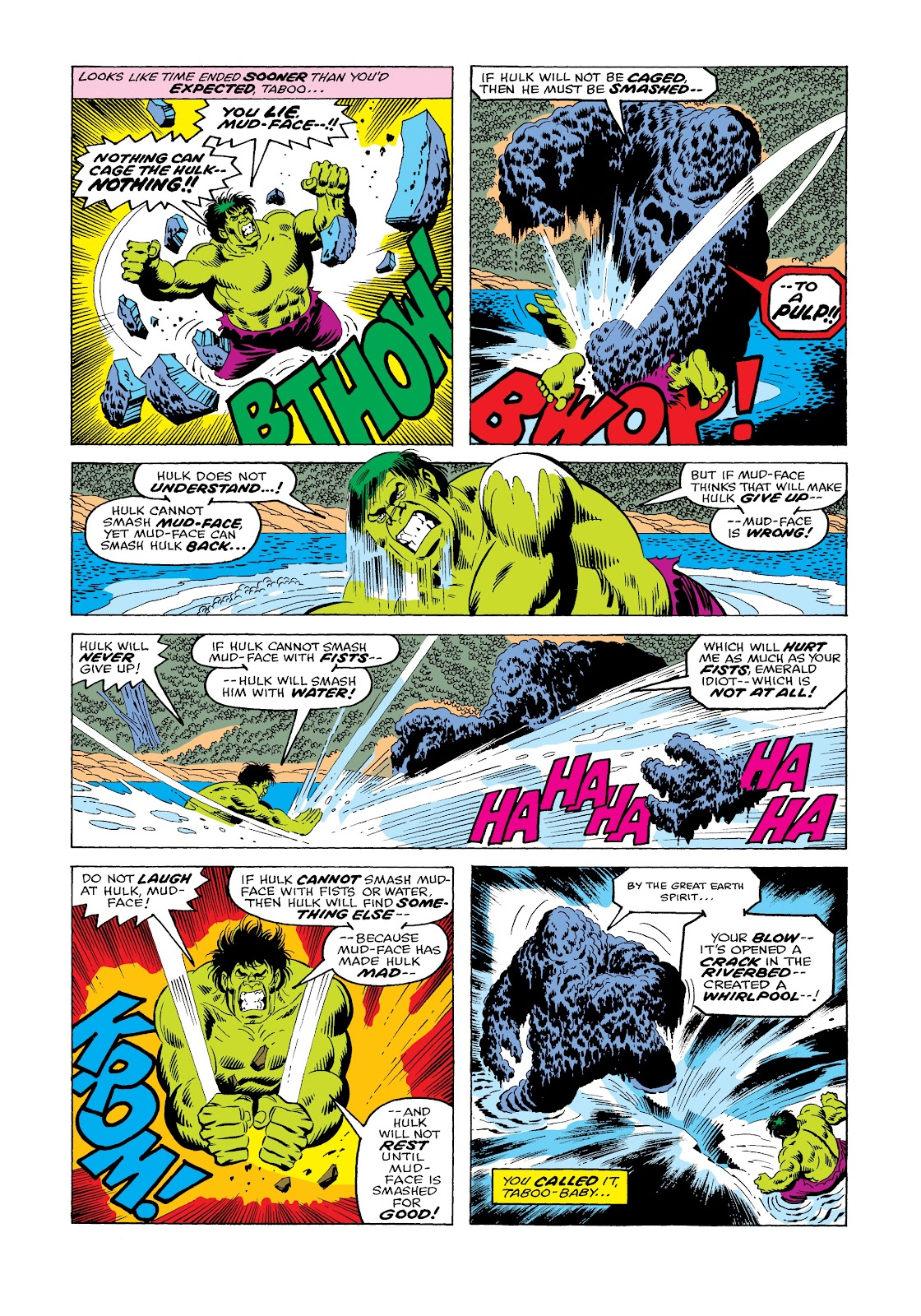 Read online Marvel Masterworks: The Incredible Hulk comic -  Issue # TPB 12 (Part 1) - 59