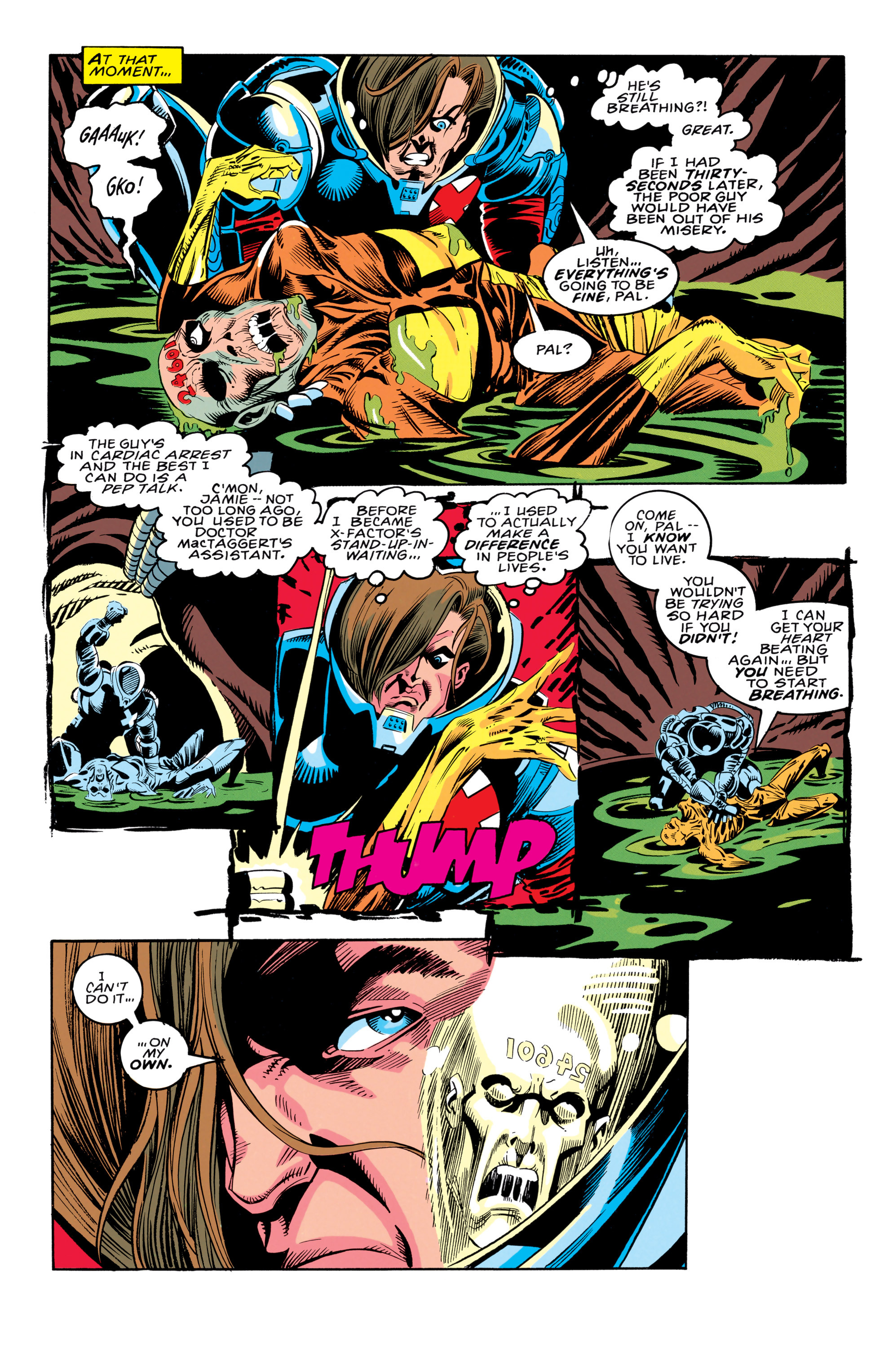 Read online X-Factor (1986) comic -  Issue #91 - 16