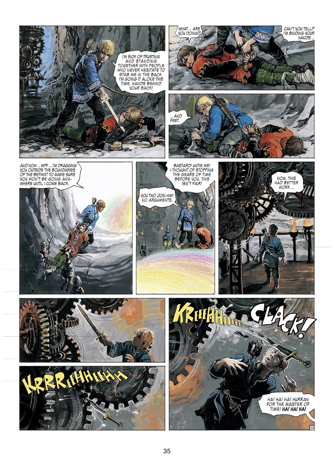 Read online Thorgal comic -  Issue #23 - 37