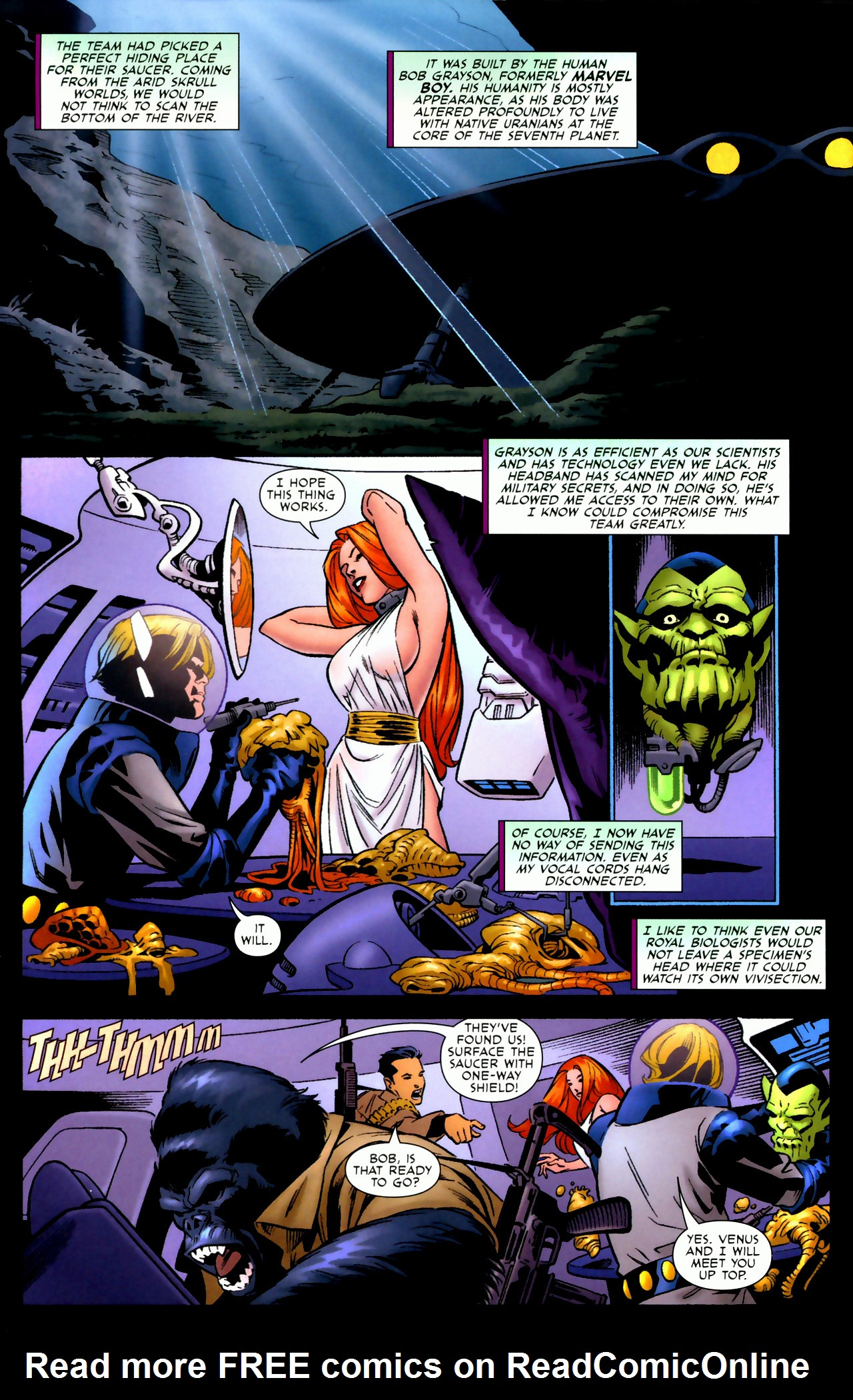 Read online Secret Invasion: Who Do You Trust? comic -  Issue # Full - 41