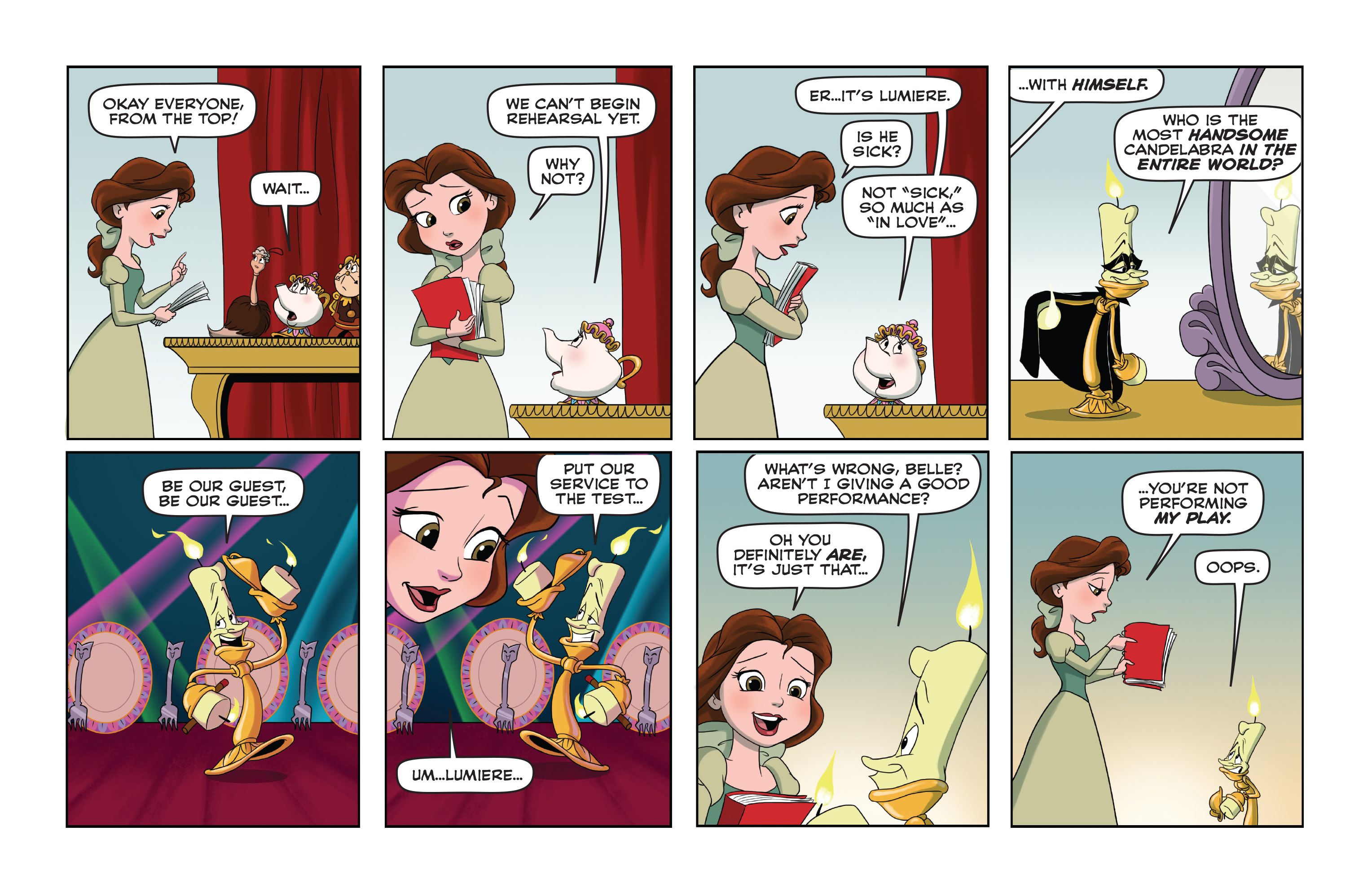 Read online Disney Princess comic -  Issue #10 - 20