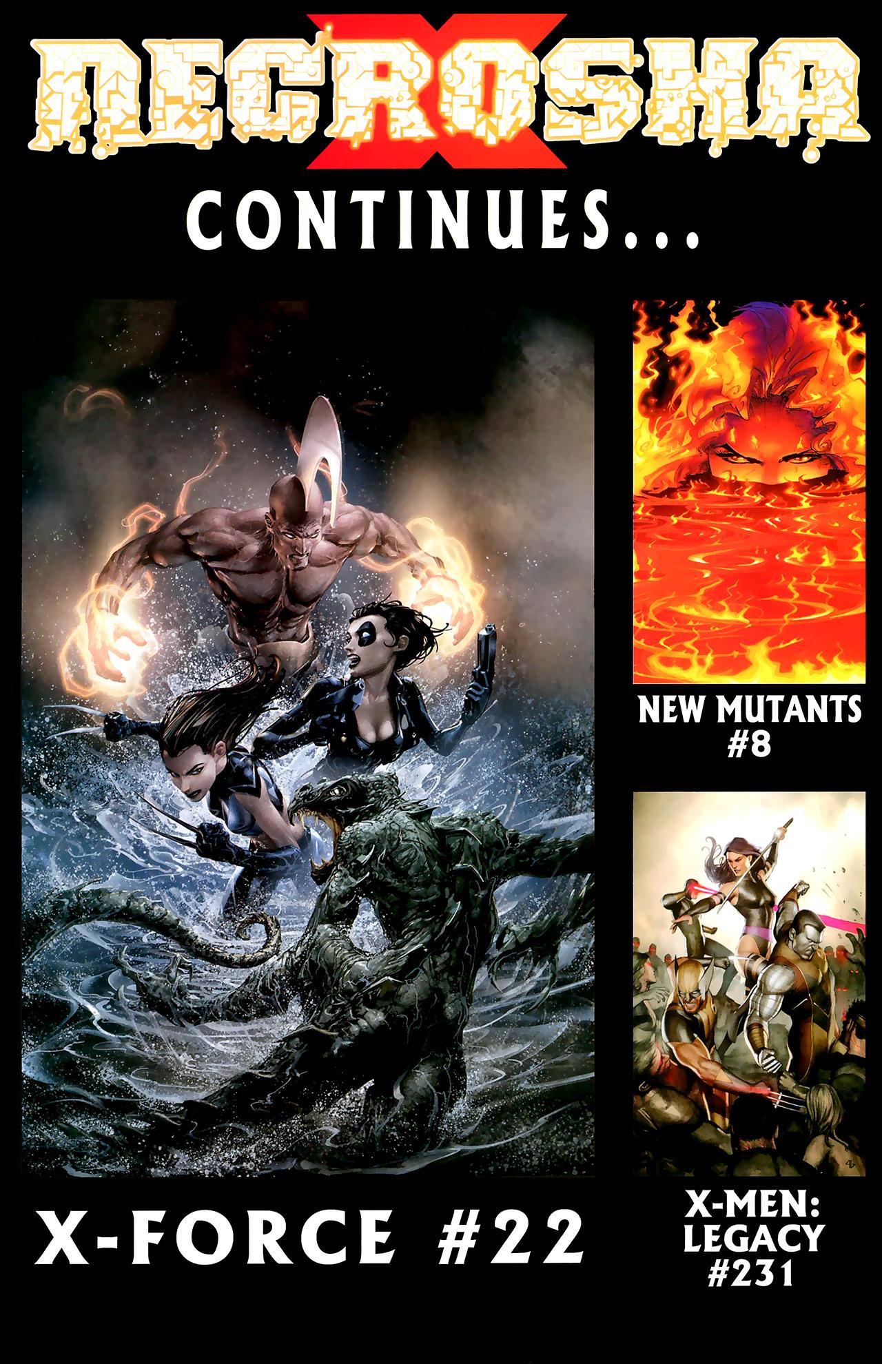 Read online X Necrosha: The Gathering comic -  Issue # Full - 43