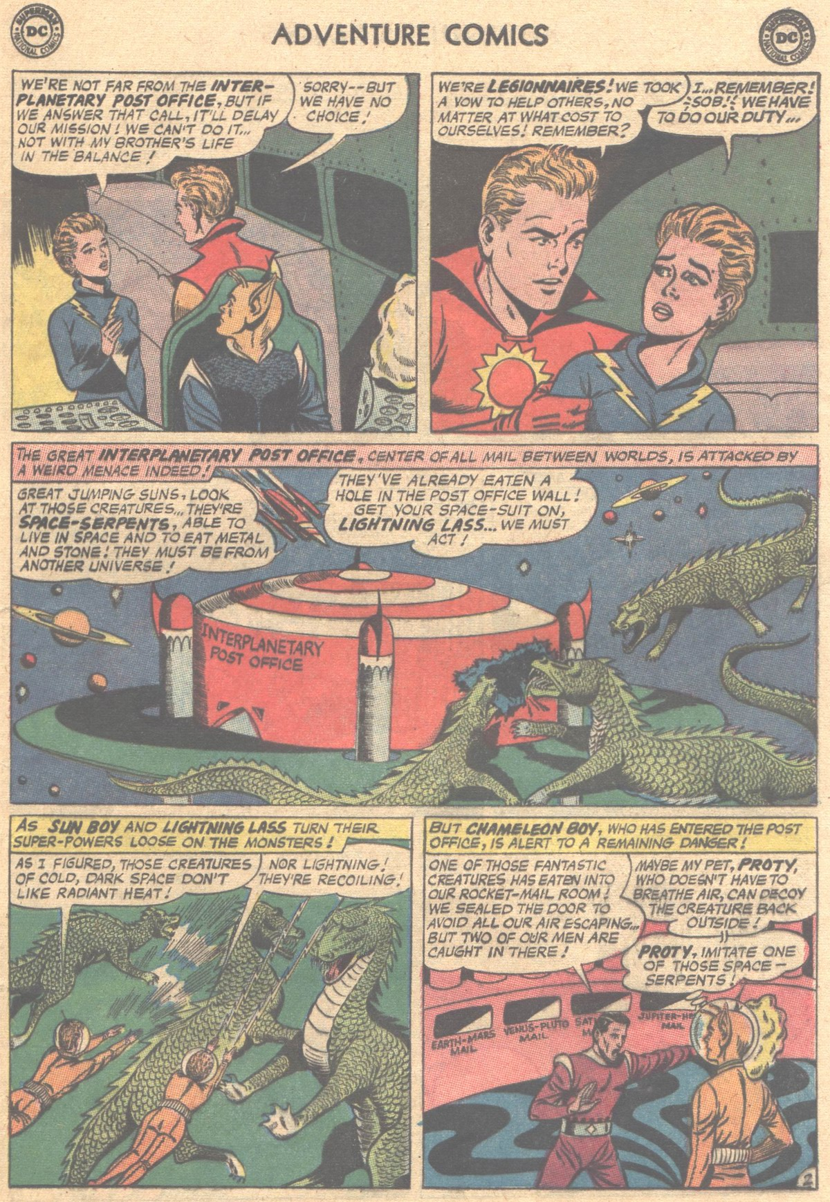 Read online Adventure Comics (1938) comic -  Issue #312 - 13