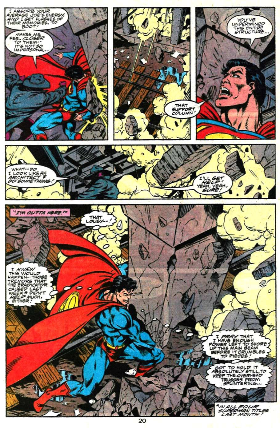 Read online Adventures of Superman (1987) comic -  Issue #481 - 21
