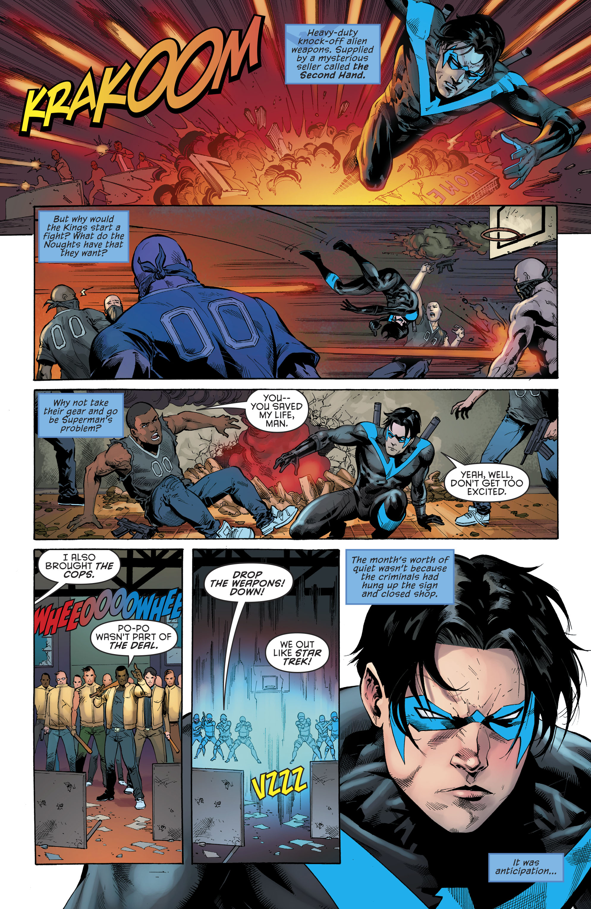 Read online Nightwing (2016) comic -  Issue #22 - 7