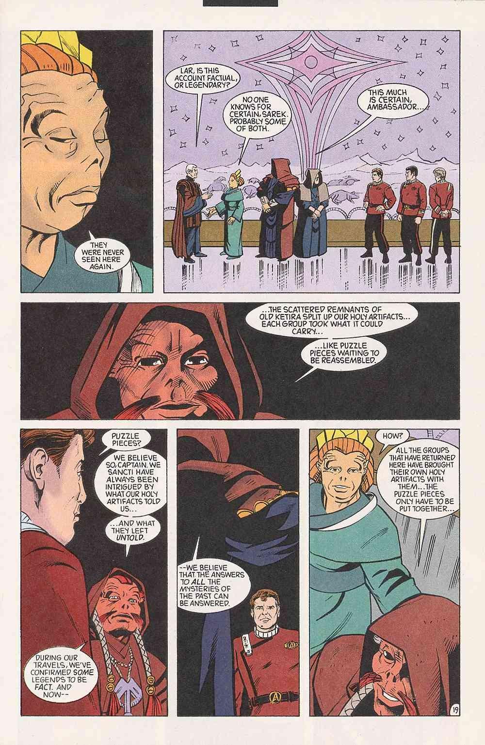 Read online Star Trek (1989) comic -  Issue # Annual 3 - 23