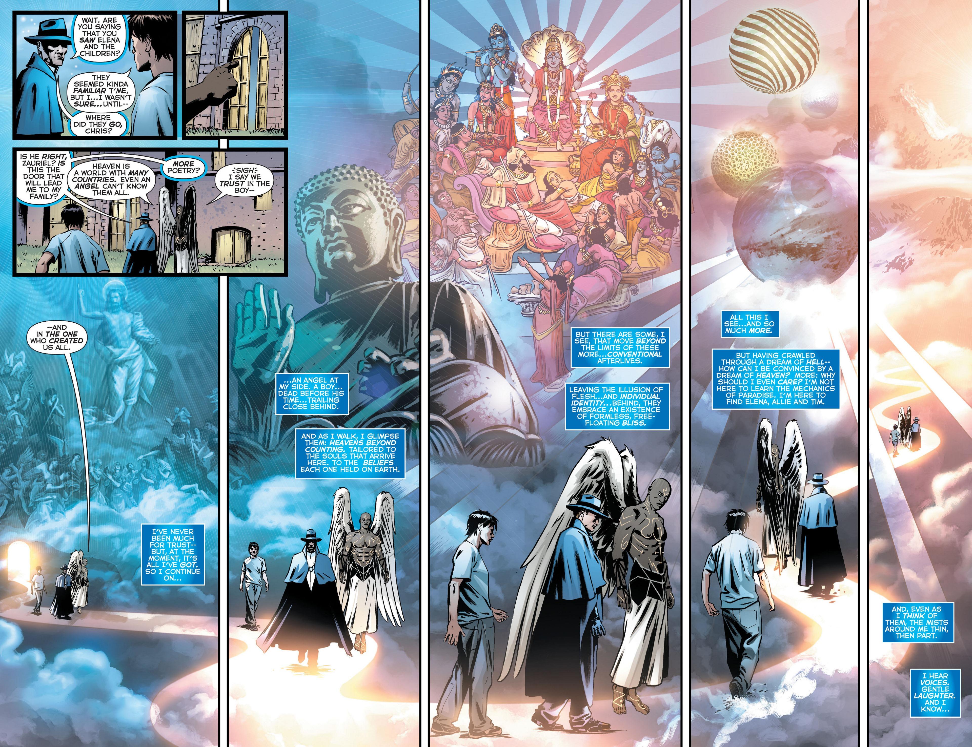 Read online Trinity of Sin: The Phantom Stranger comic -  Issue #10 - 9