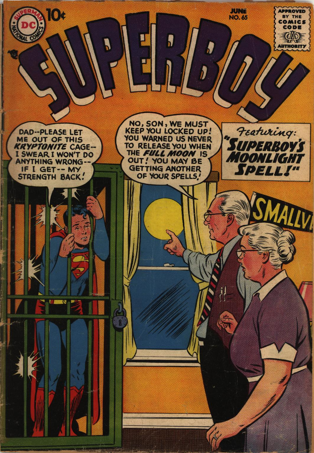 Superboy (1949) issue 65 - Page 1