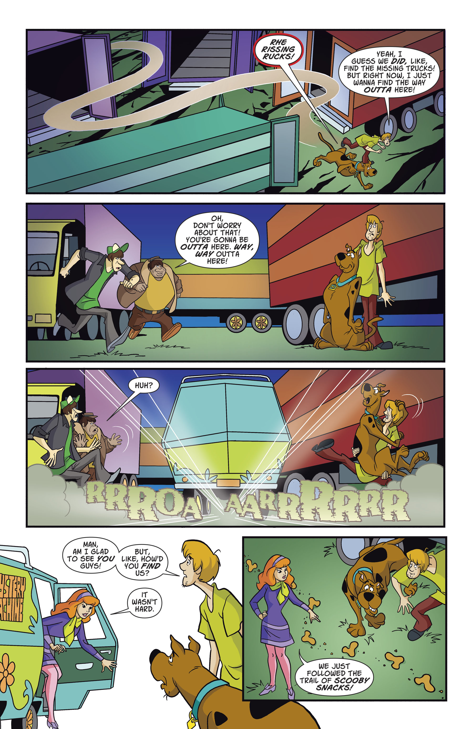 Read online Scooby-Doo: Where Are You? comic -  Issue #82 - 10