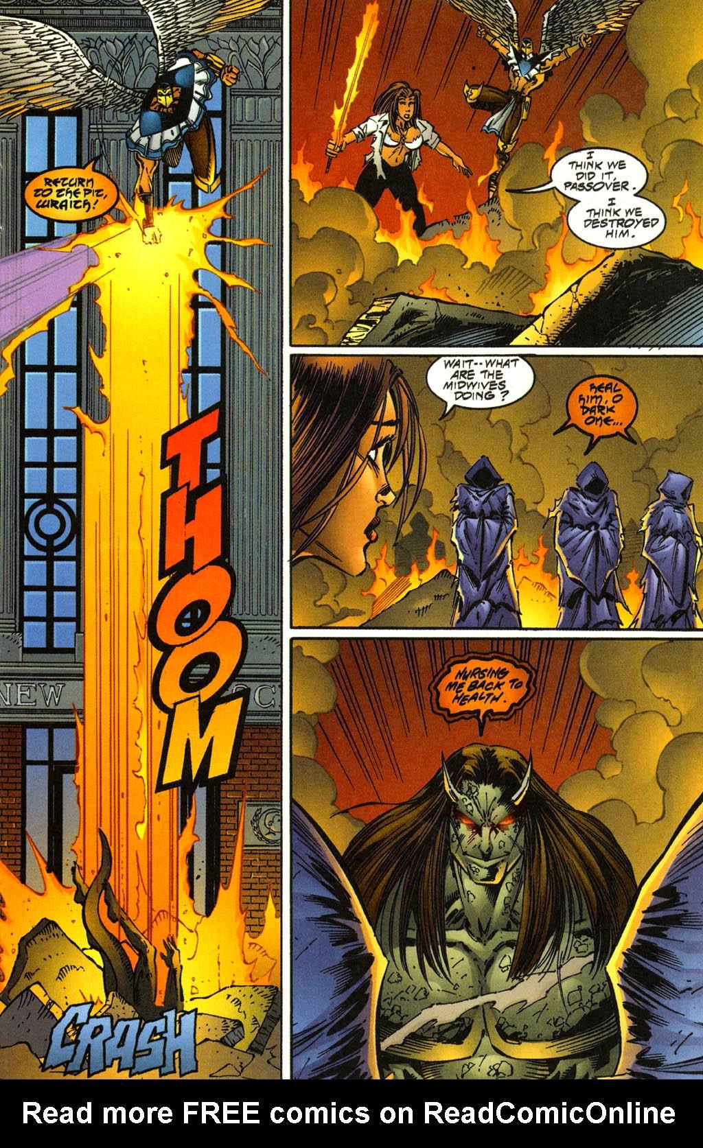 Read online Avengelyne (1996) comic -  Issue #3 - 22