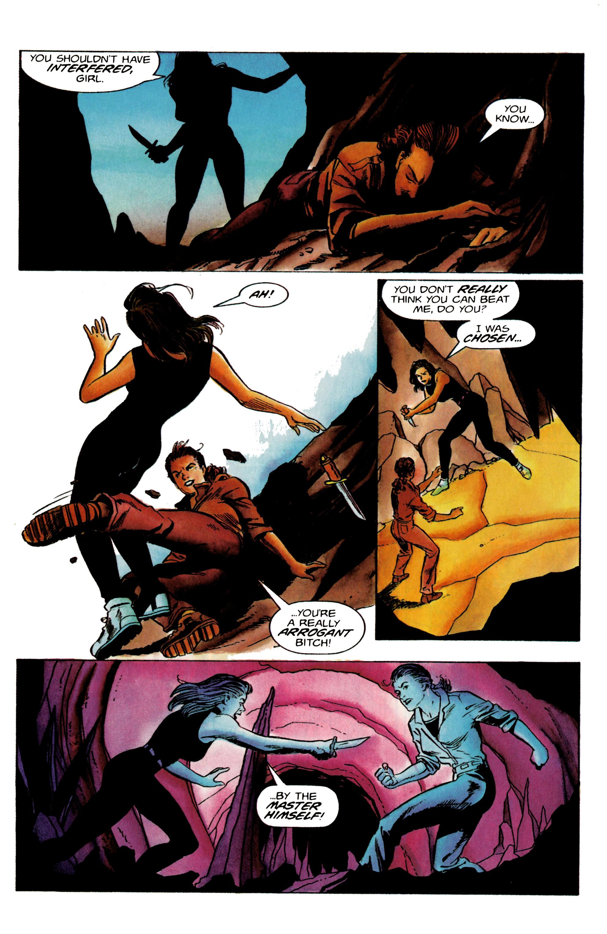 Read online Eternal Warrior (1992) comic -  Issue #19 - 16
