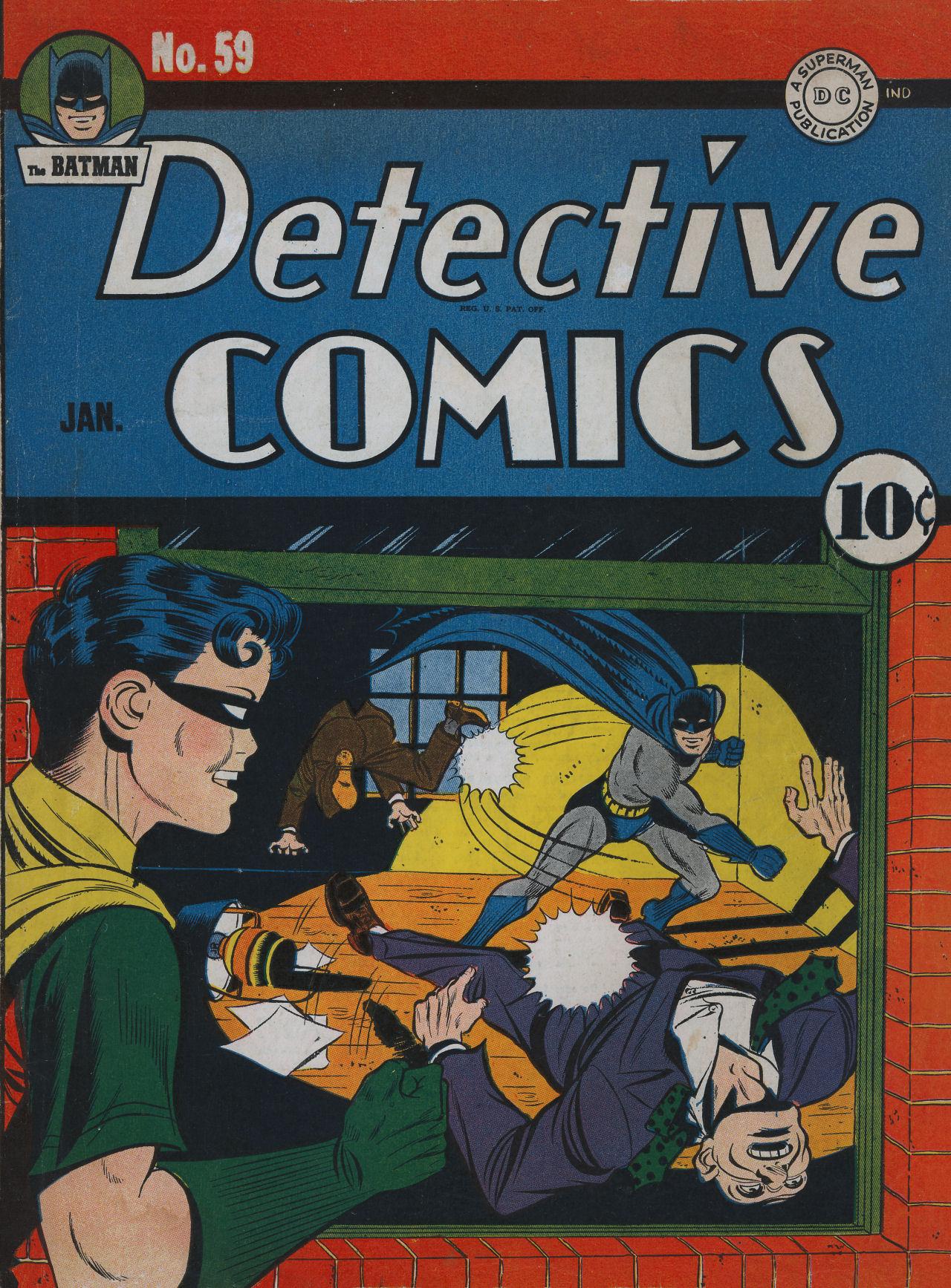 Detective Comics (1937) 59 Page 1