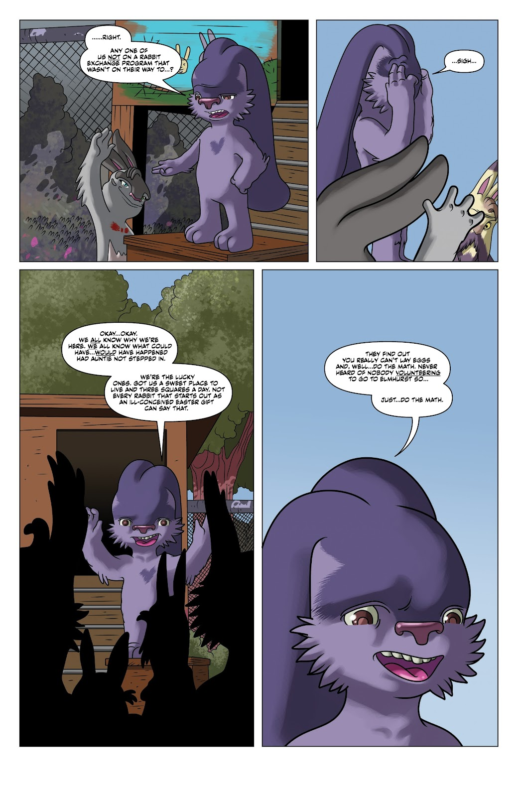 Read online Auntie Agatha's Home For Wayward Rabbits comic -  Issue #5 - 9