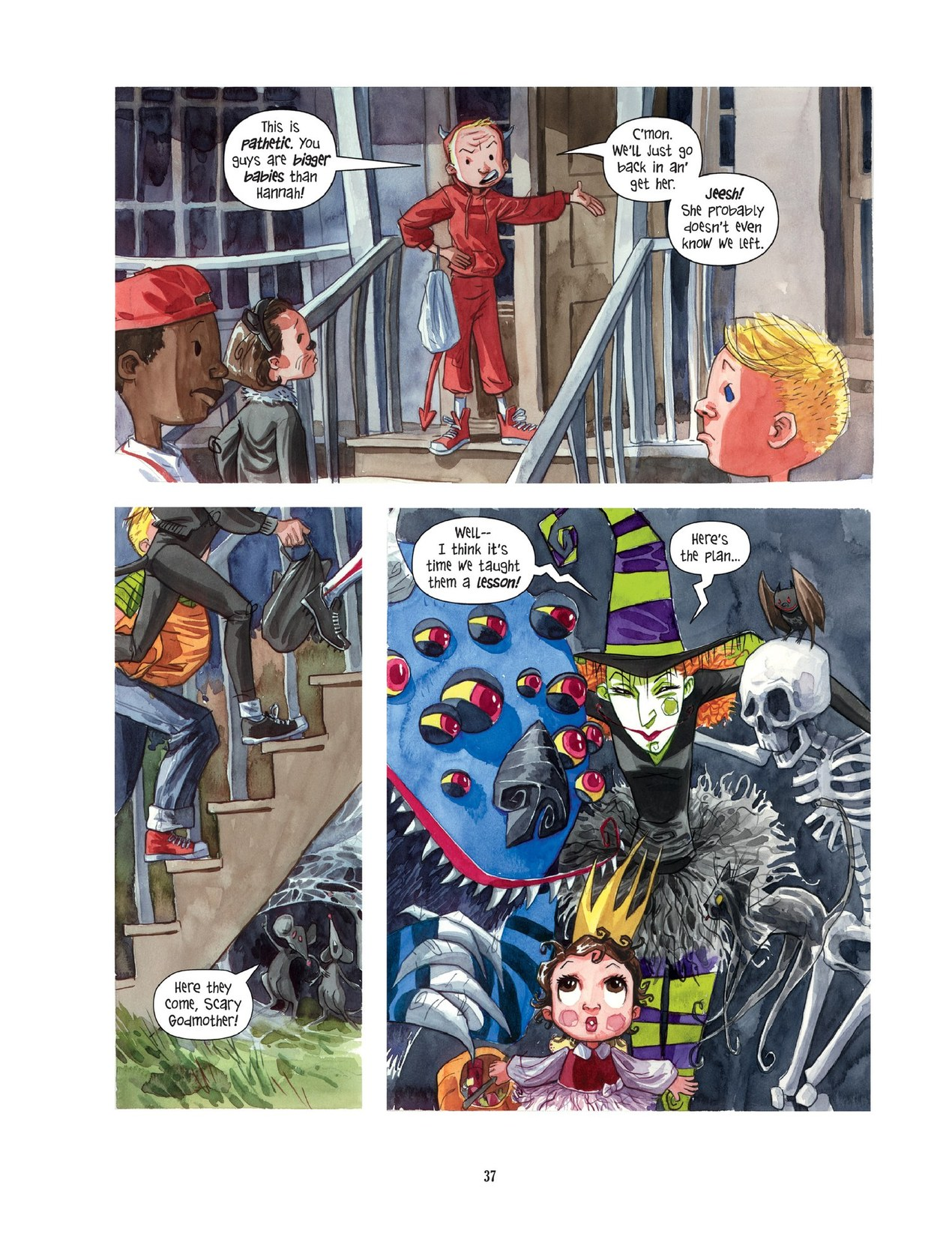Read online Scary Godmother comic -  Issue # TPB - 37