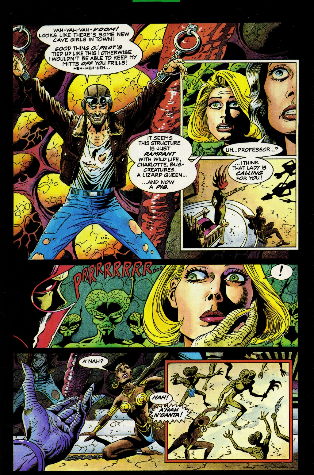 Read online Turok, Dinosaur Hunter (1993) comic -  Issue #33 - 8