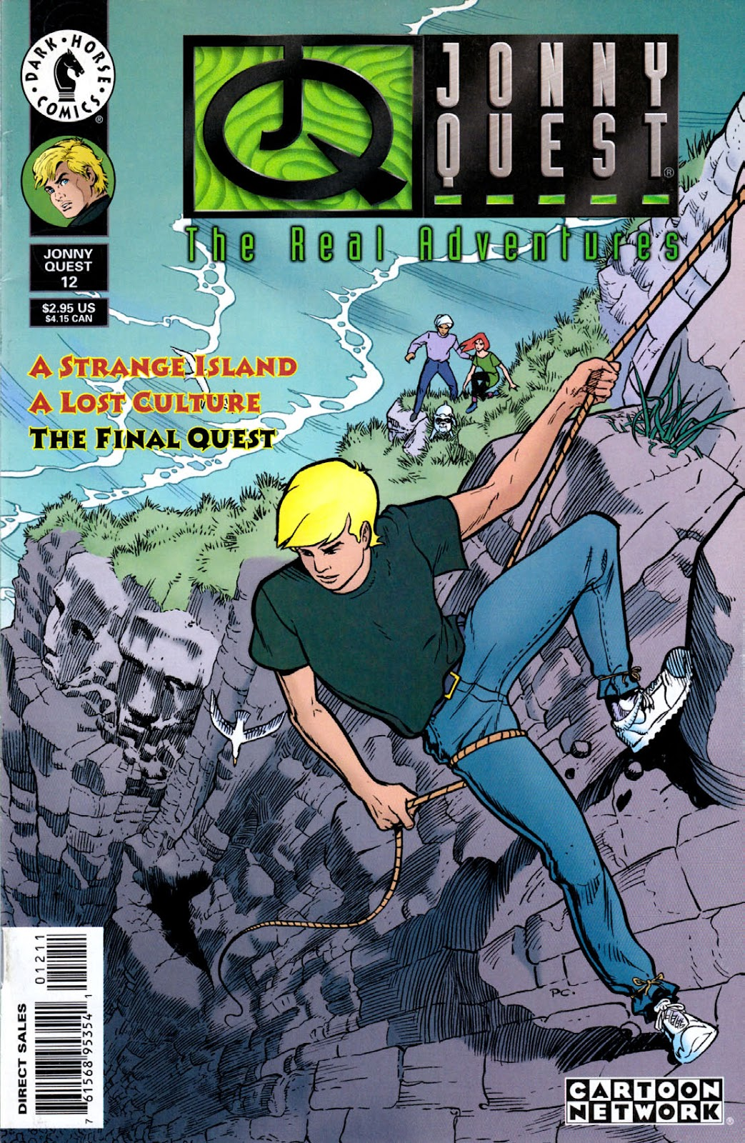 Read online The Real Adventures of Jonny Quest comic -  Issue #12 - 1