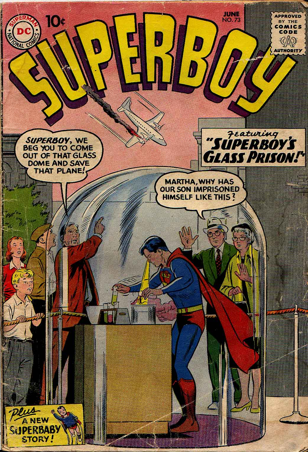 Superboy (1949) issue 73 - Page 1
