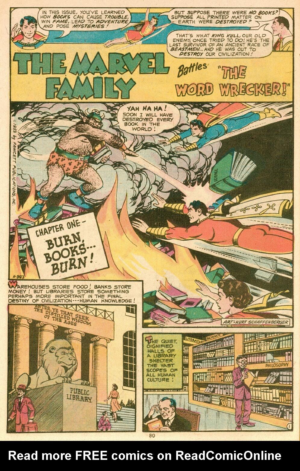 Read online Shazam! (1973) comic -  Issue #14 - 68