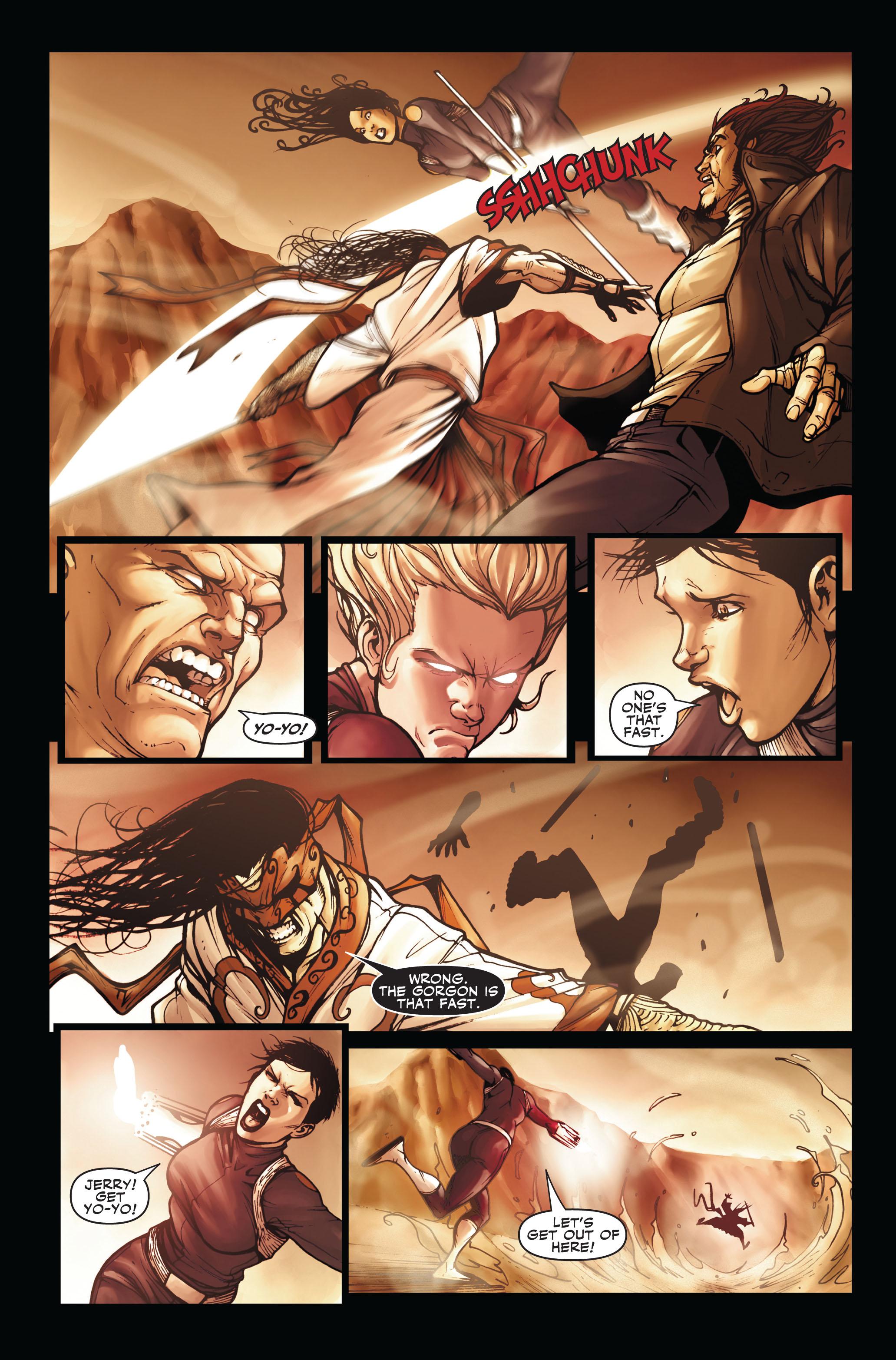 Read online Secret Warriors comic -  Issue #3 - 18