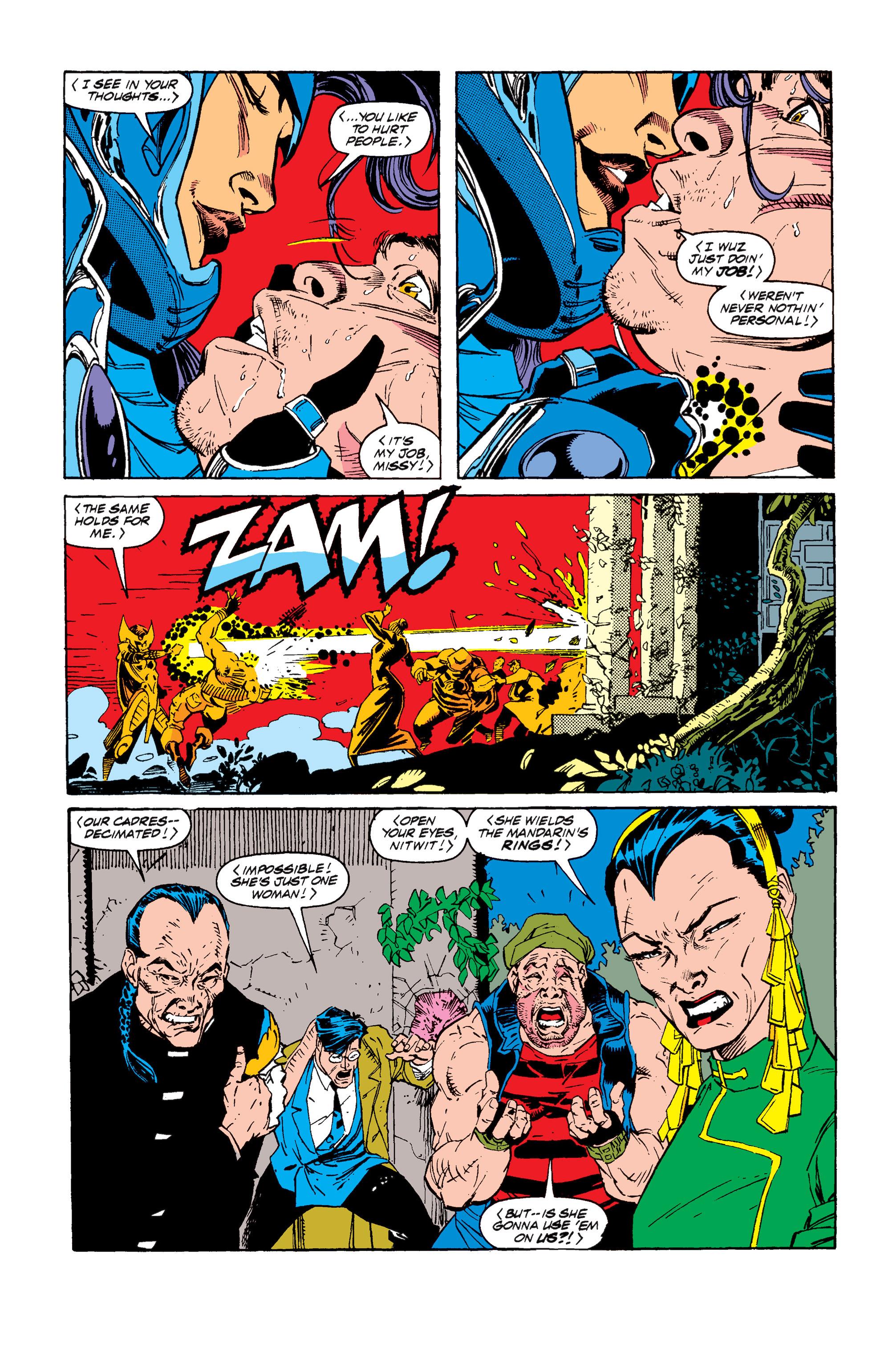 Read online Uncanny X-Men (1963) comic -  Issue #257 - 6