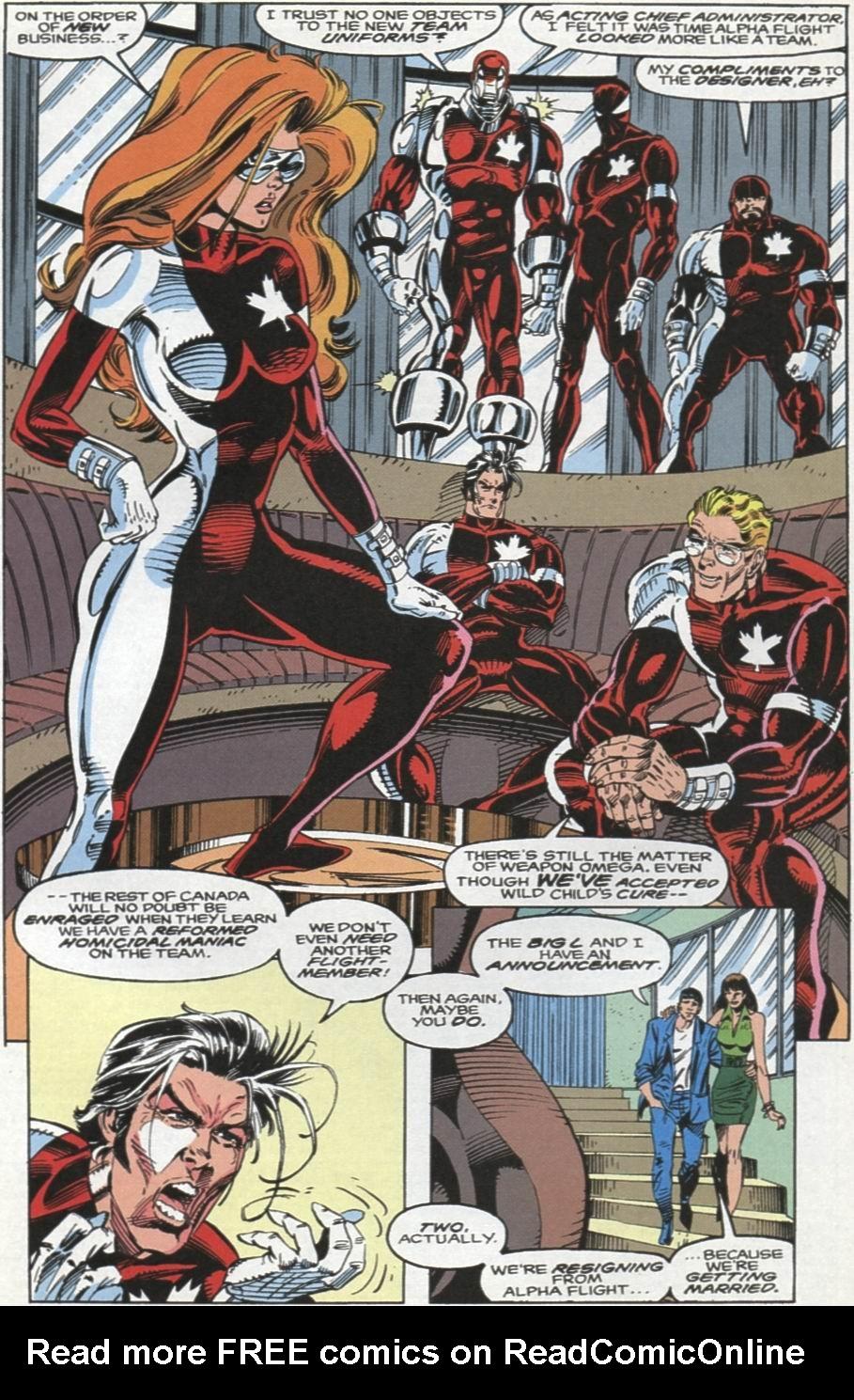 Read online Alpha Flight (1983) comic -  Issue #104 - 21
