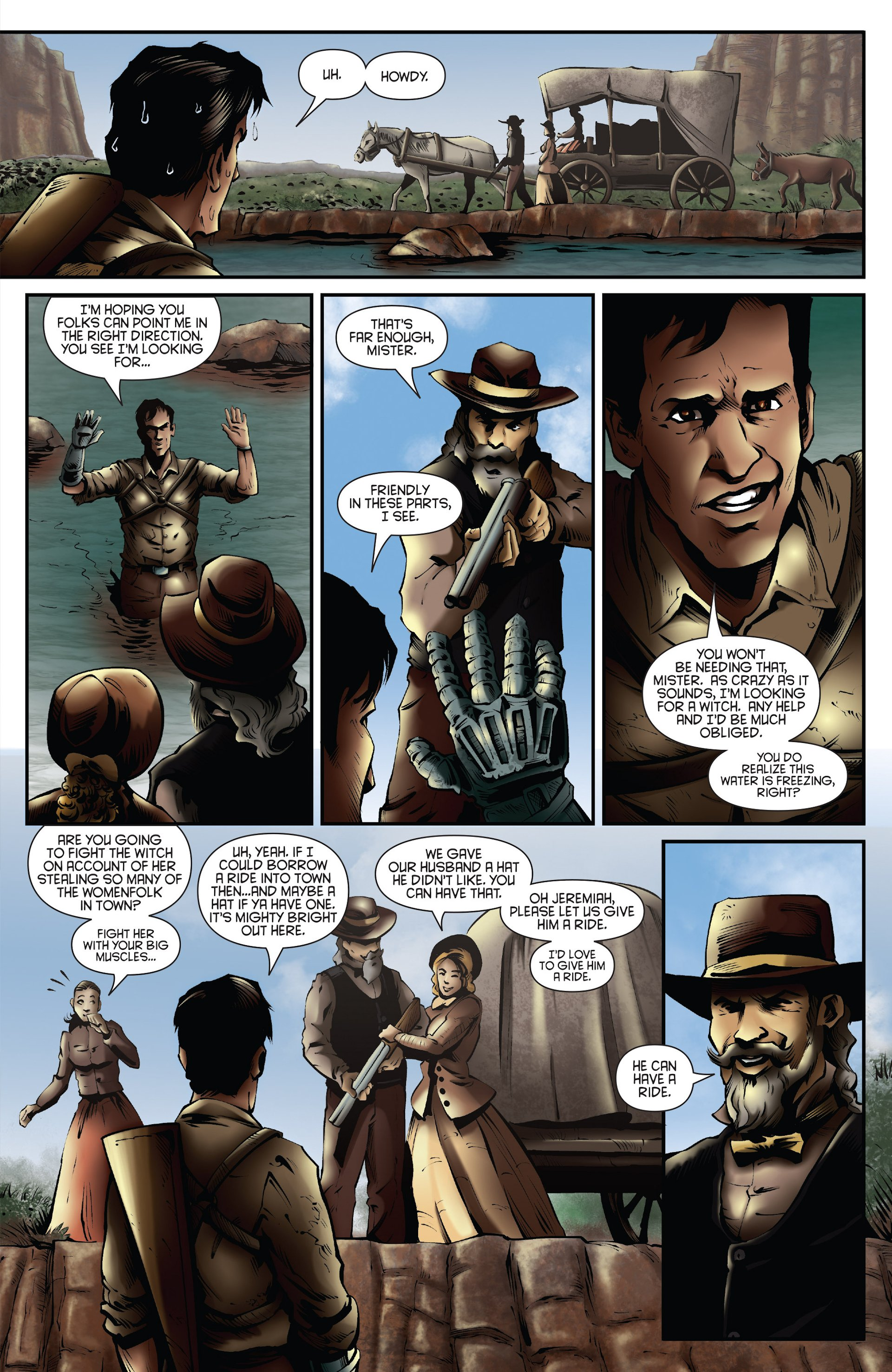Read online Ash and the Army of Darkness comic -  Issue #Ash and the Army of Darkness _Annual 1 - 25