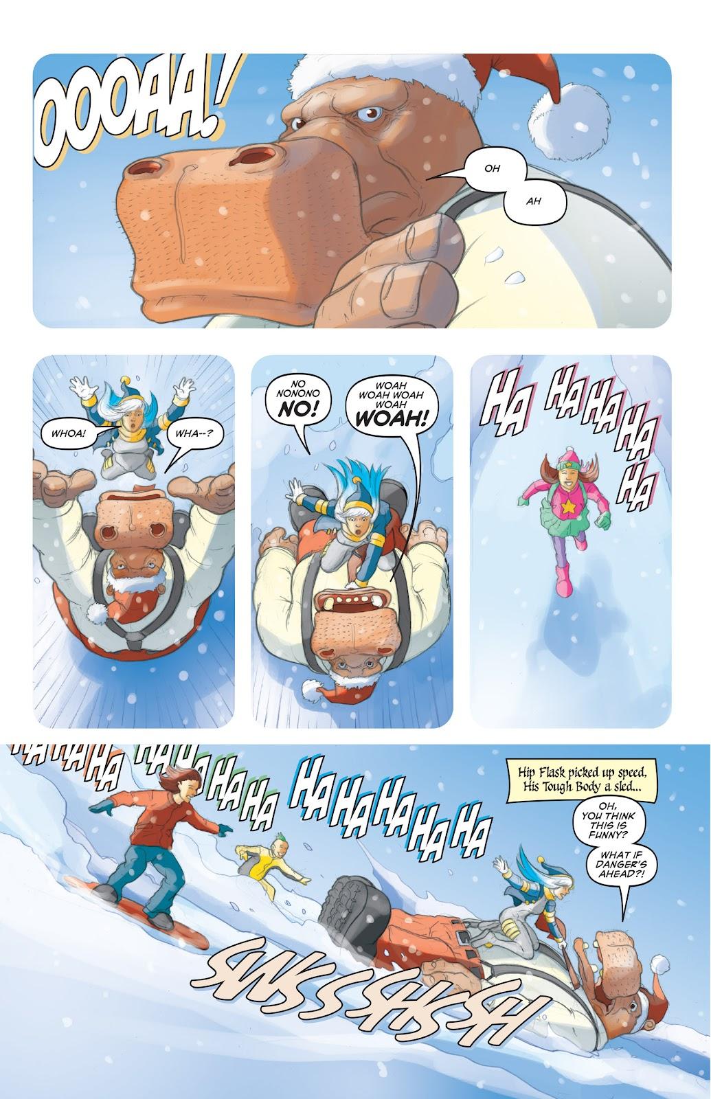 Read online Elephantmen 2261 Season Two: The Pentalion Job comic -  Issue # TPB - 106