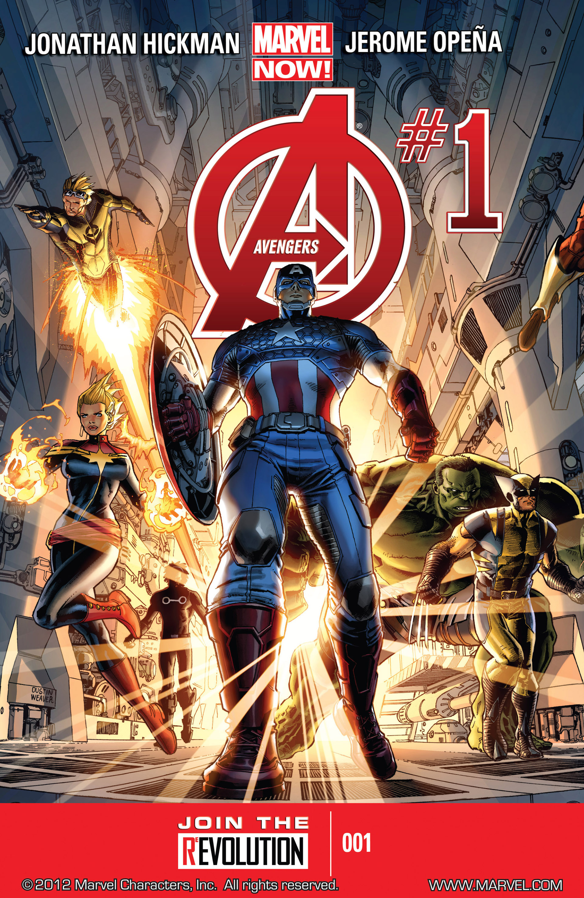 Read online Avengers (2013) comic -  Issue #1 - 1