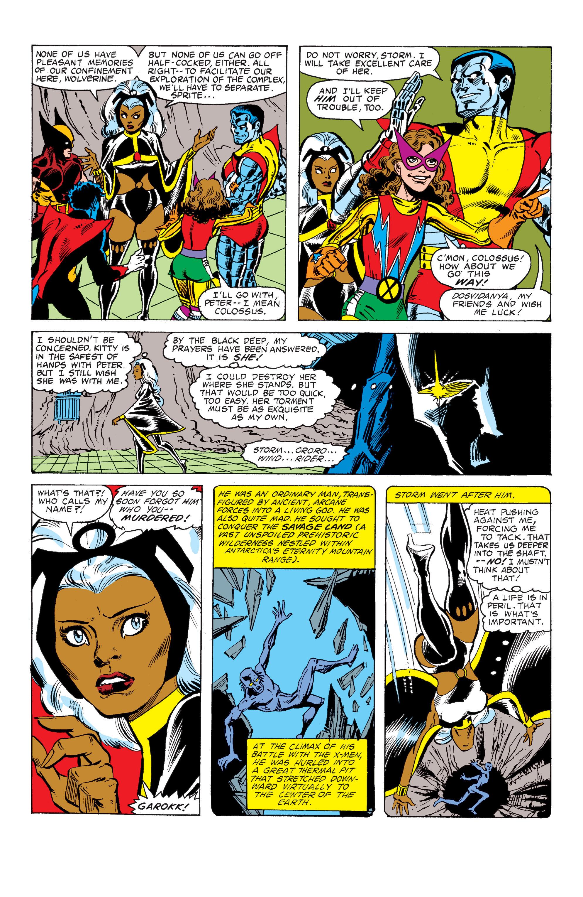 Read online Uncanny X-Men (1963) comic -  Issue #149 - 11