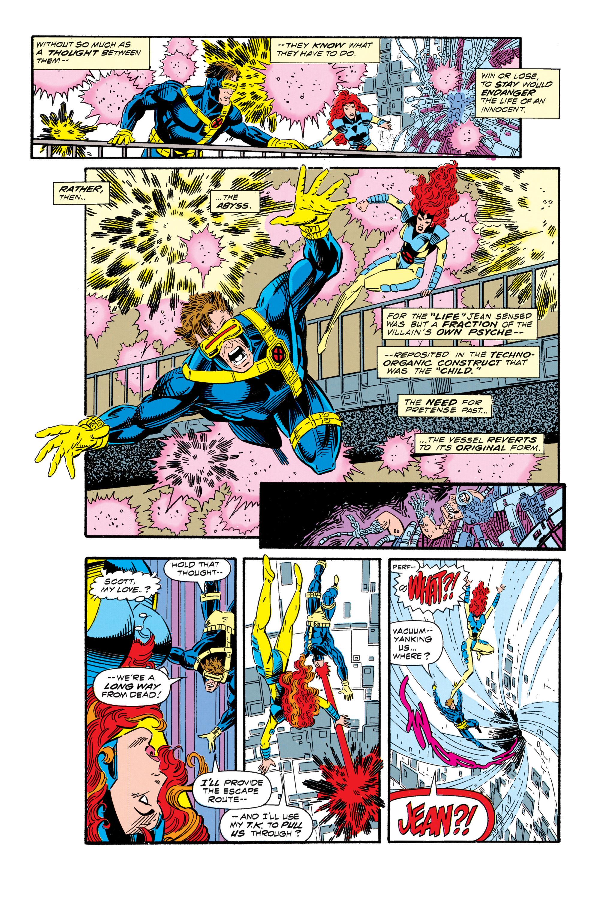 Read online Uncanny X-Men (1963) comic -  Issue #296 - 22