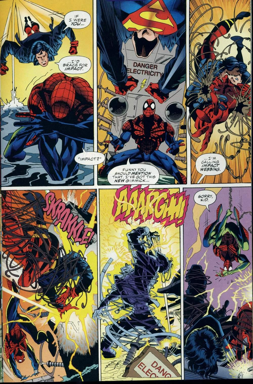 Read online DC Versus Marvel Comics comic -  Issue #3 - 28