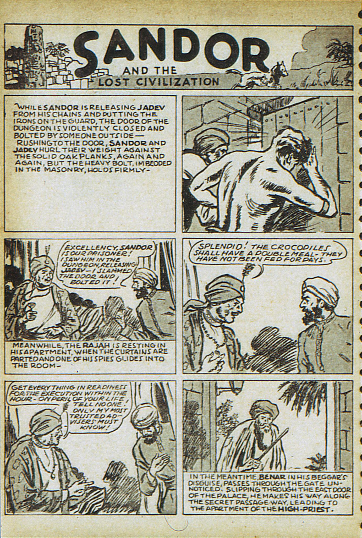 Read online Adventure Comics (1938) comic -  Issue #23 - 50