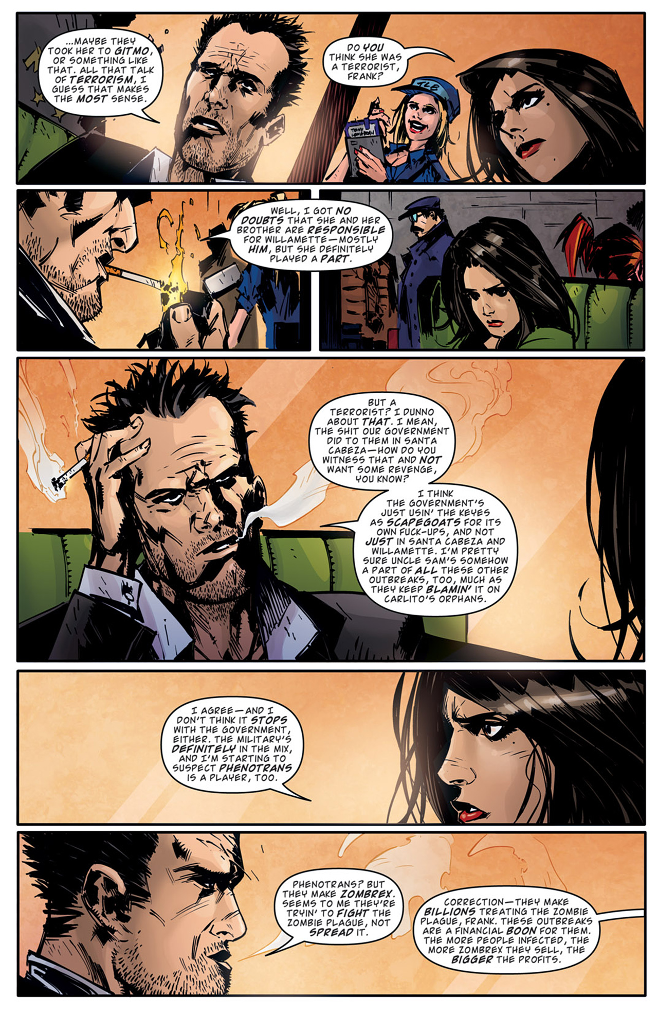 Read online Dead Rising: Road to Fortune comic -  Issue # TPB - 48