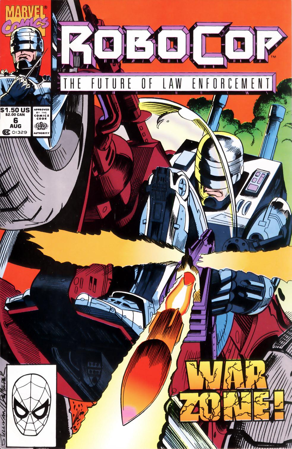 Read online Robocop (1990) comic -  Issue #6 - 1