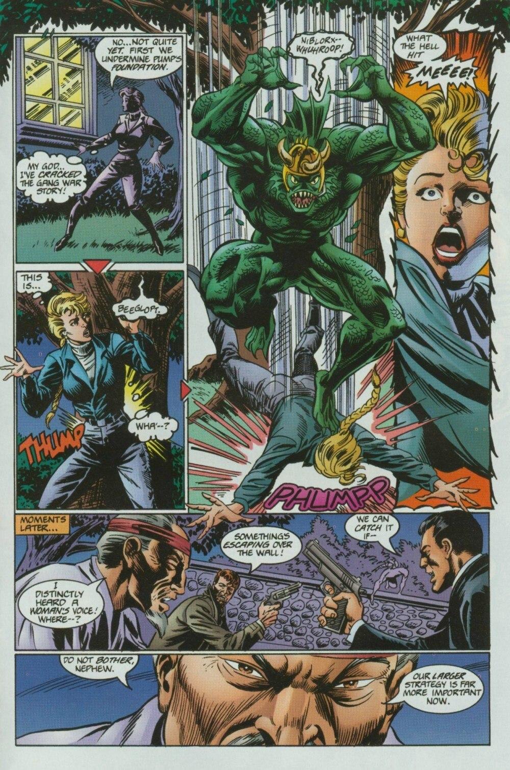 Read online Sludge comic -  Issue #9 - 17