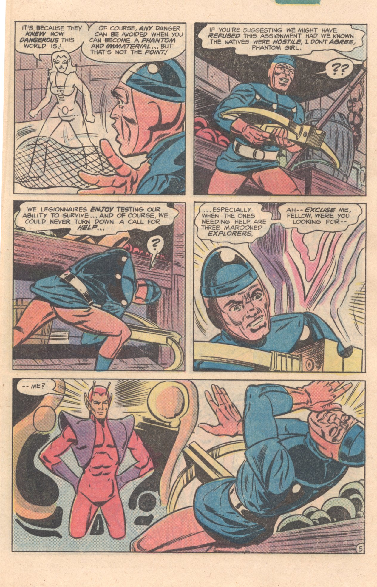 Legion of Super-Heroes (1980) 276 Page 5