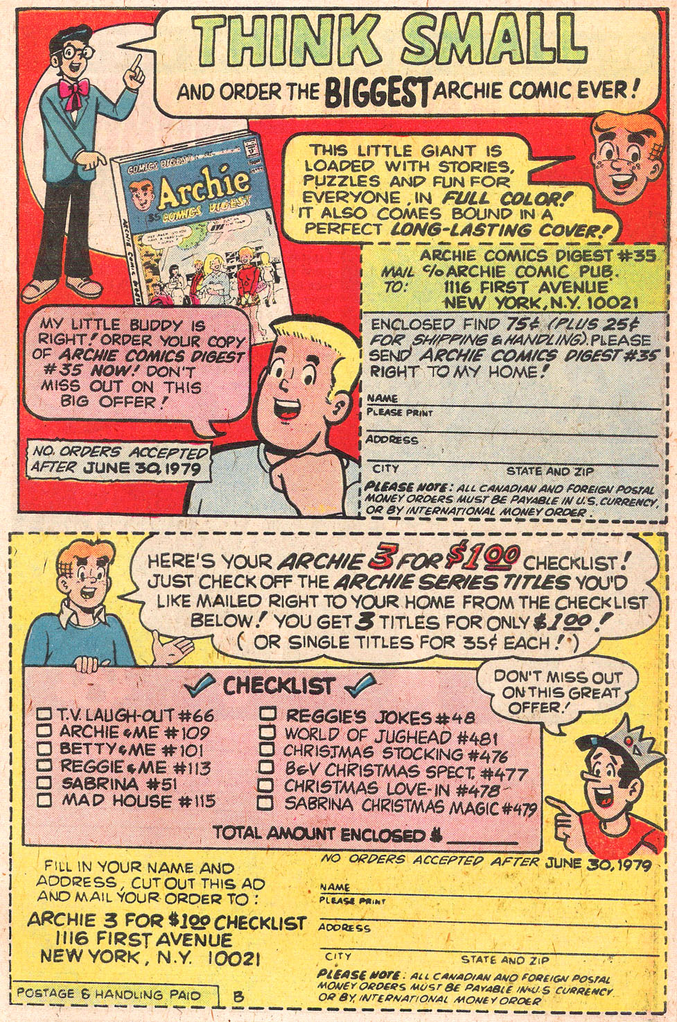 Read online Archie's Girls Betty and Veronica comic -  Issue #279 - 27